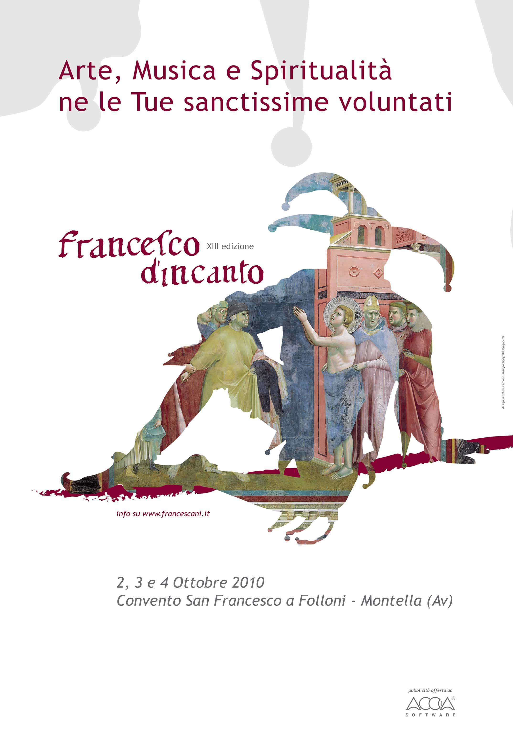 Francesco D'Incanto Locandina 2010