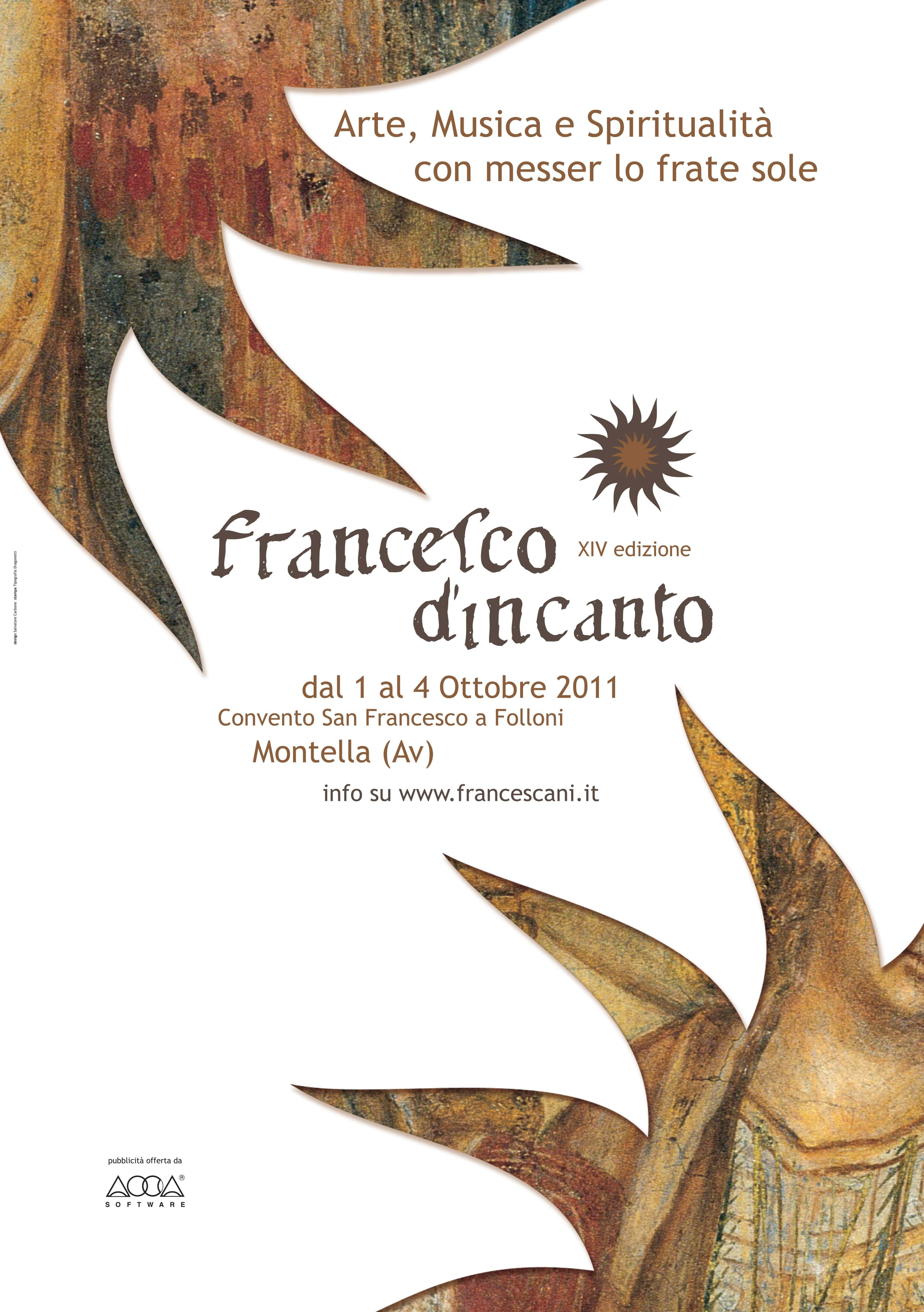 Francesco D'Incanto Locandina 2011