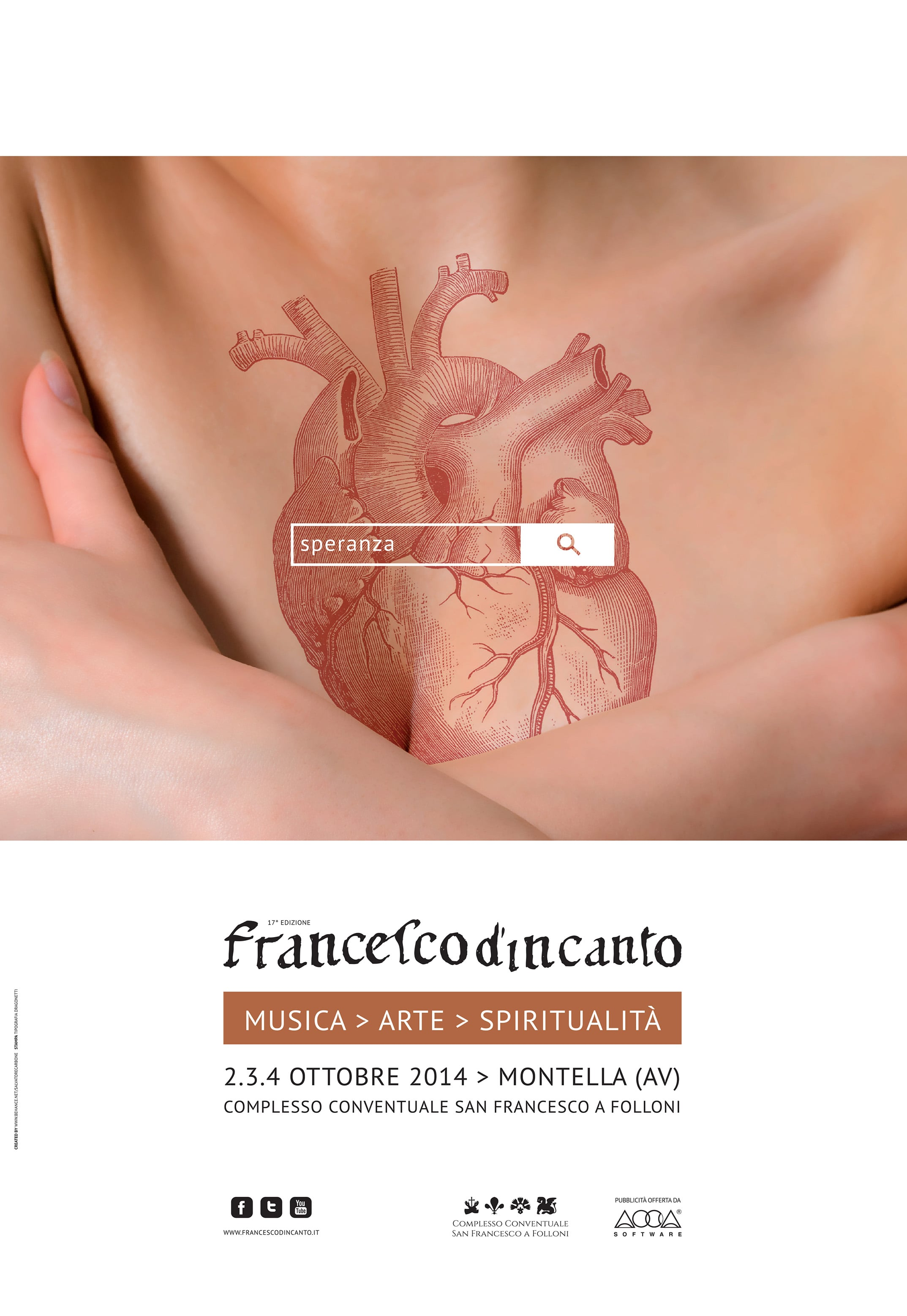 Francesco D'Incanto Locandina 2014